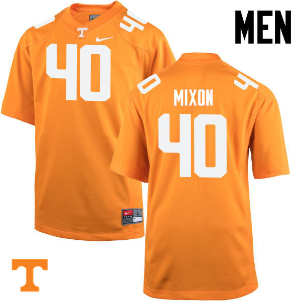 Men #40 Dimarya Mixon Tennessee Volunteers College Football Jerseys-Orange